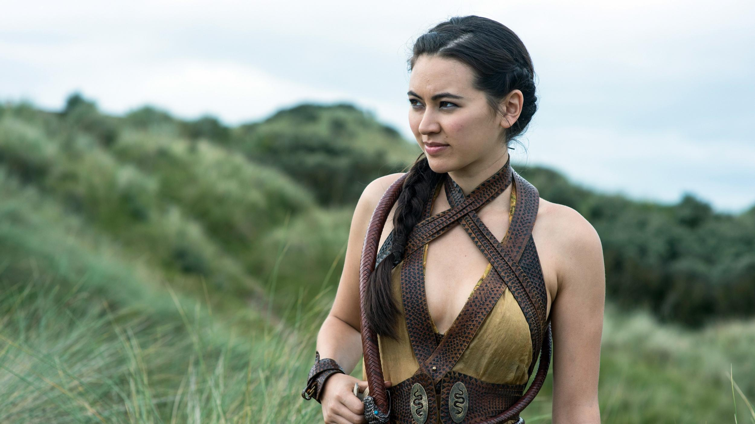 essica Henwick from the set of Game of Thrones