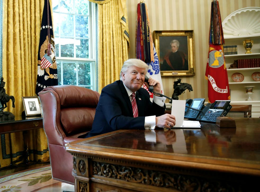 Donald Trump has been accused of not being engaged with the Senate healthcare bill, something he denies