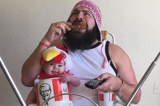 Funny Kfc Dancing: Hackney Dad Takes Instagram By Storm With Cute Costumes