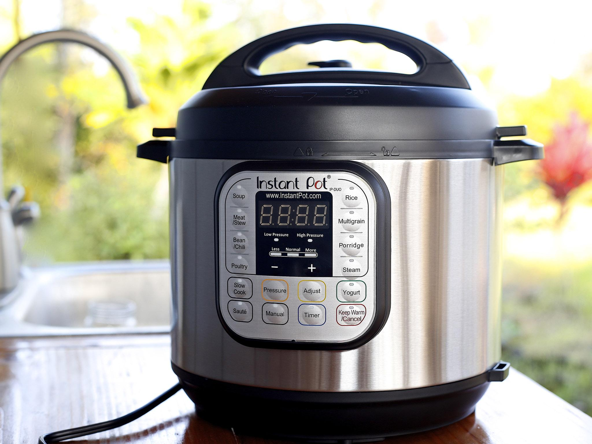 How the trusty pressure cooker has been brought up to date
