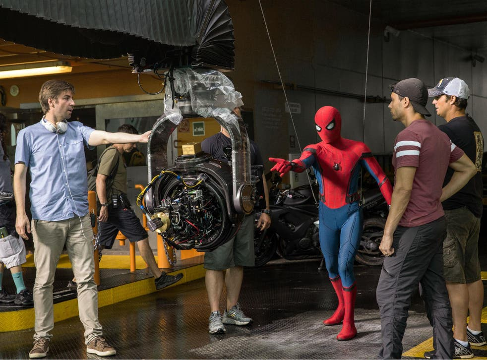 'Spider-Man: Homecoming' director Jon Watts on the set of his film