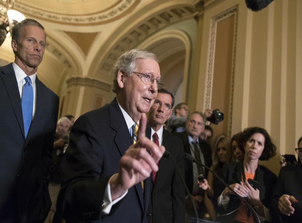 Senate Majority Leader Mitch McConnell released a $500bn 'targeted' coronavirus relief bill on Tuesday that is not expected to gain traction among Democrats.