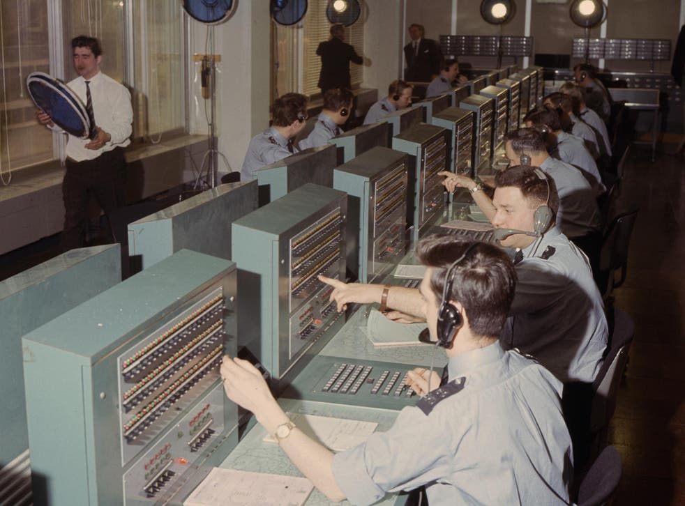 Police operate a 999 call switchboard