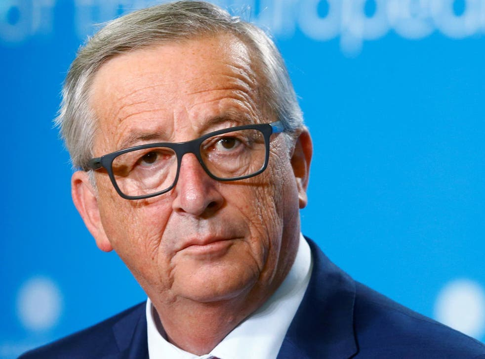Jean-Claude Juncker accused David Davis of not being fully involved in Brexit talks