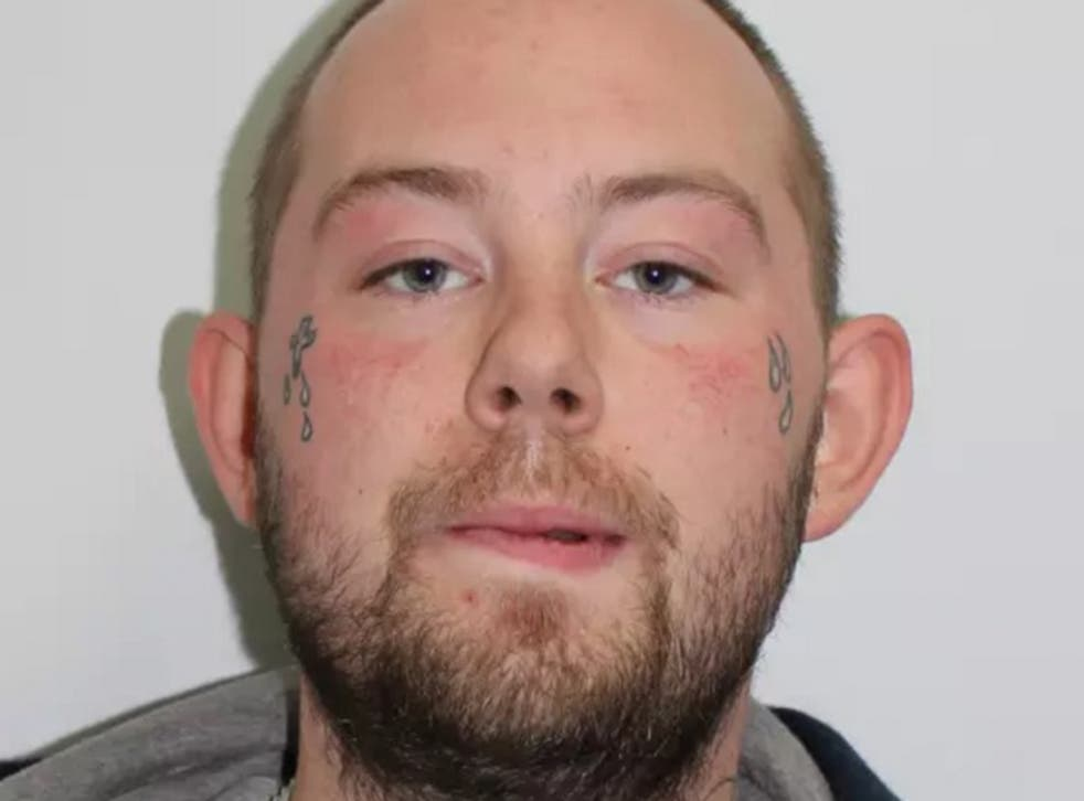 John Tomlin is wanted by Scotland Yard in connection with the acid attack