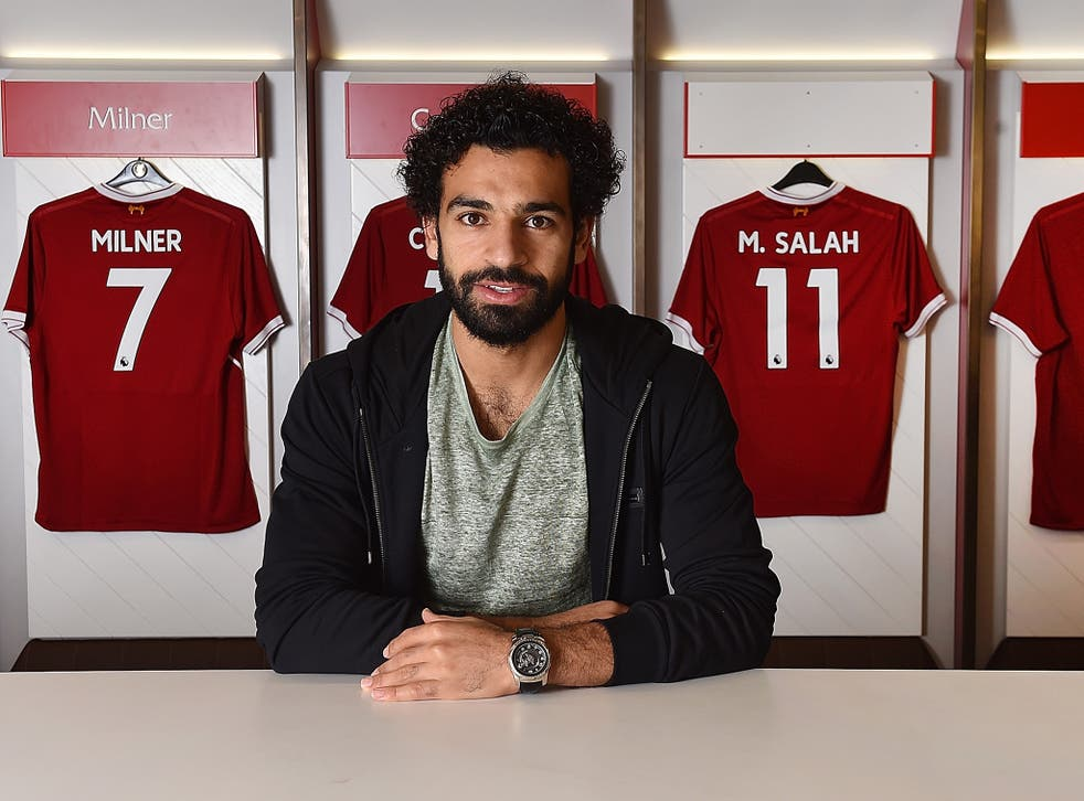 Mohamed Salah joined Liverpool from Roma in a £34.3m deal last week