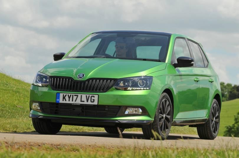 skoda fabia 1 0 tsi monte carlo reviewed the independent. Black Bedroom Furniture Sets. Home Design Ideas