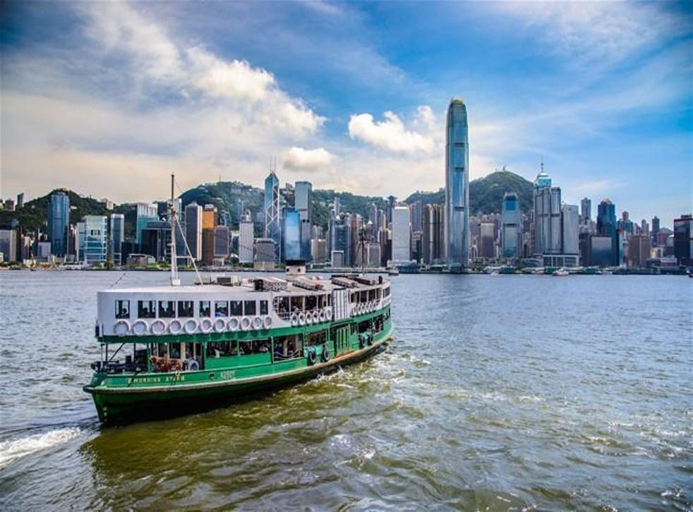 All aboard: Take a ferry – like the iconic Star Ferry – to a neighbouring island