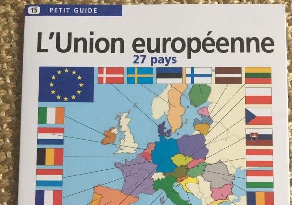 Brexit: UK already removed from EU map in French ... on create a pushpin map, bangladesh map, home map, pin map, general map, city map, orientation map, continent map, police map, strategy map, west africa map, game map, calendar map, food map, armenia map, class map, peru's map, economy map, church map, scroll map,
