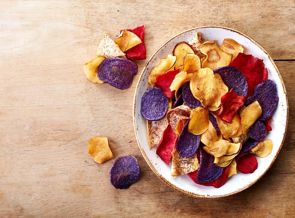 Vegetable crisps might not be as healthy as you think