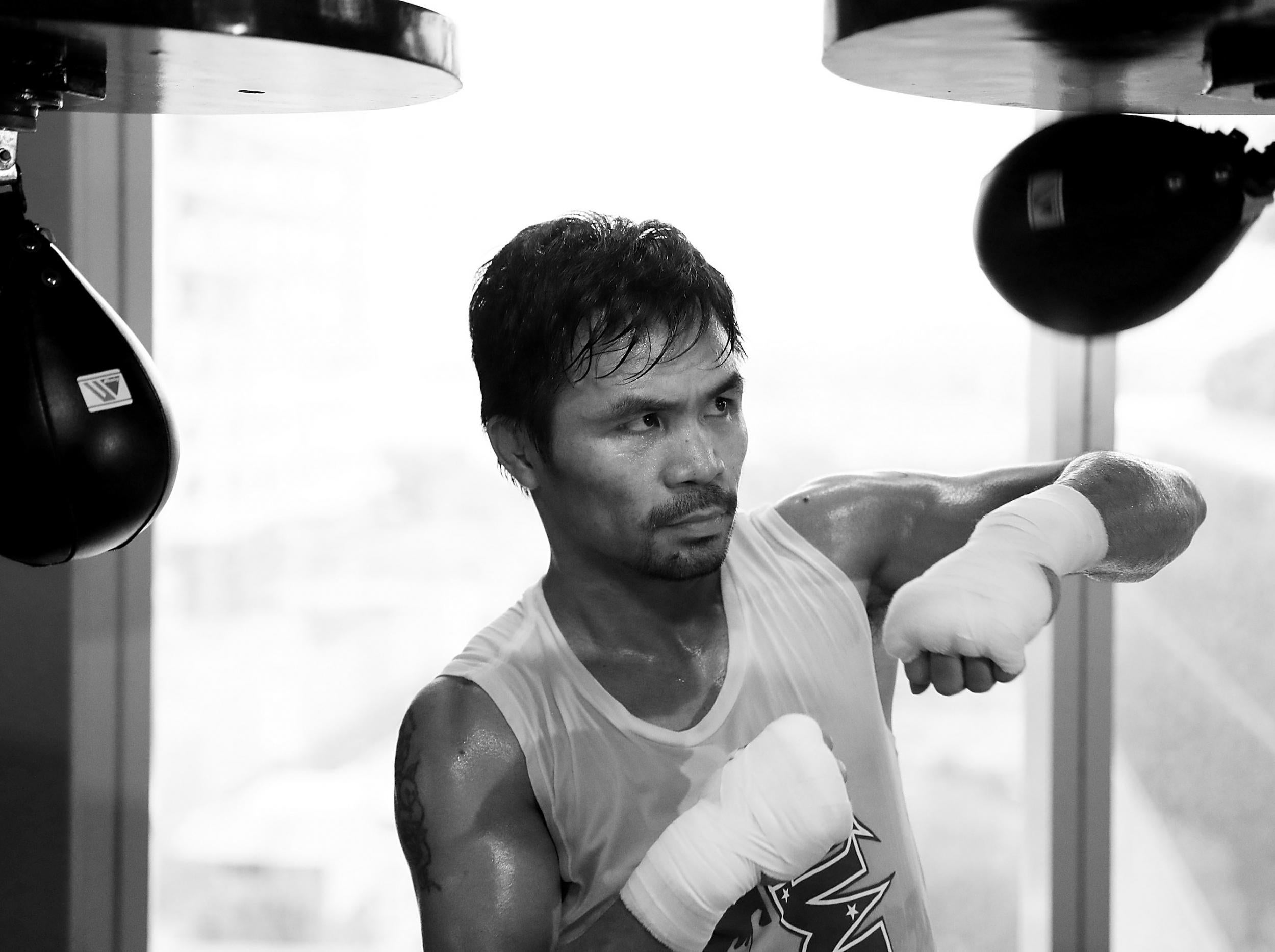 With the end of his career in sight, Manny Pacquiao is fighting for more than just gold against Jeff Horn