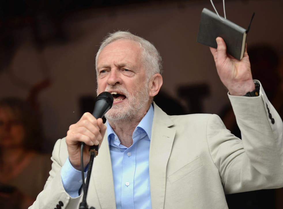 Mr Corbyn will attack 'a decade of lost growth, a decade of stagnant living standards'