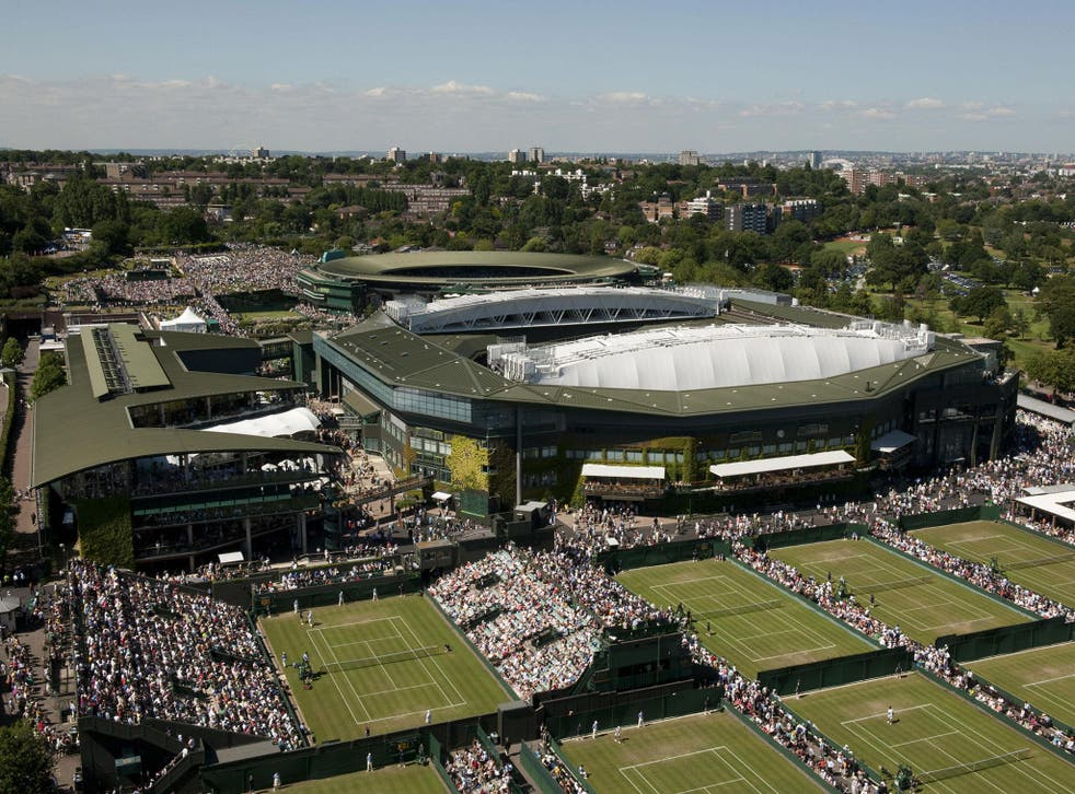 New strains of grass are tested out on the outer courts before, if good enough, graduating to Centre Court and Court no 1