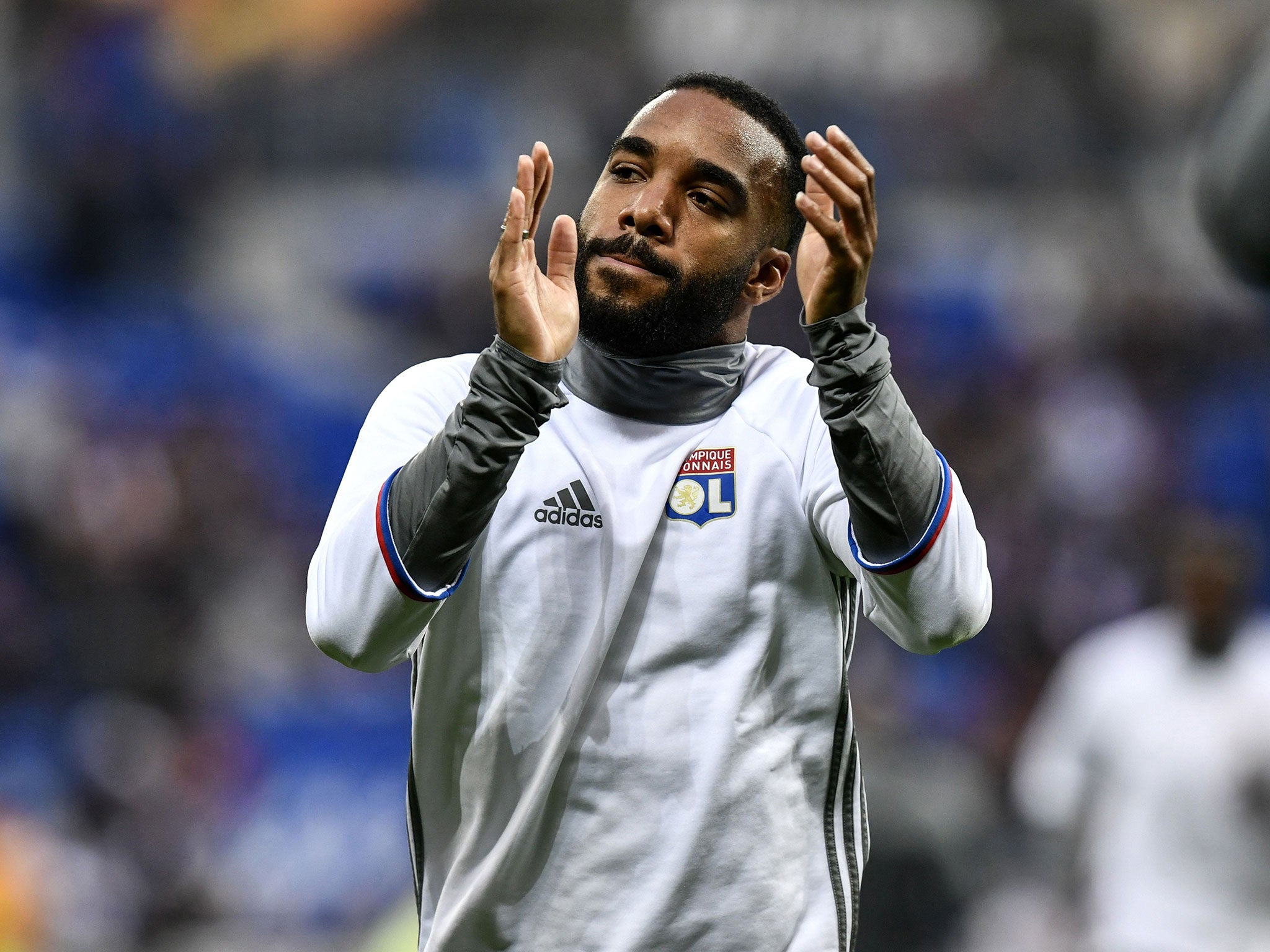 Arsenal make £39m offer for Alexandre Lacazette but forward is not