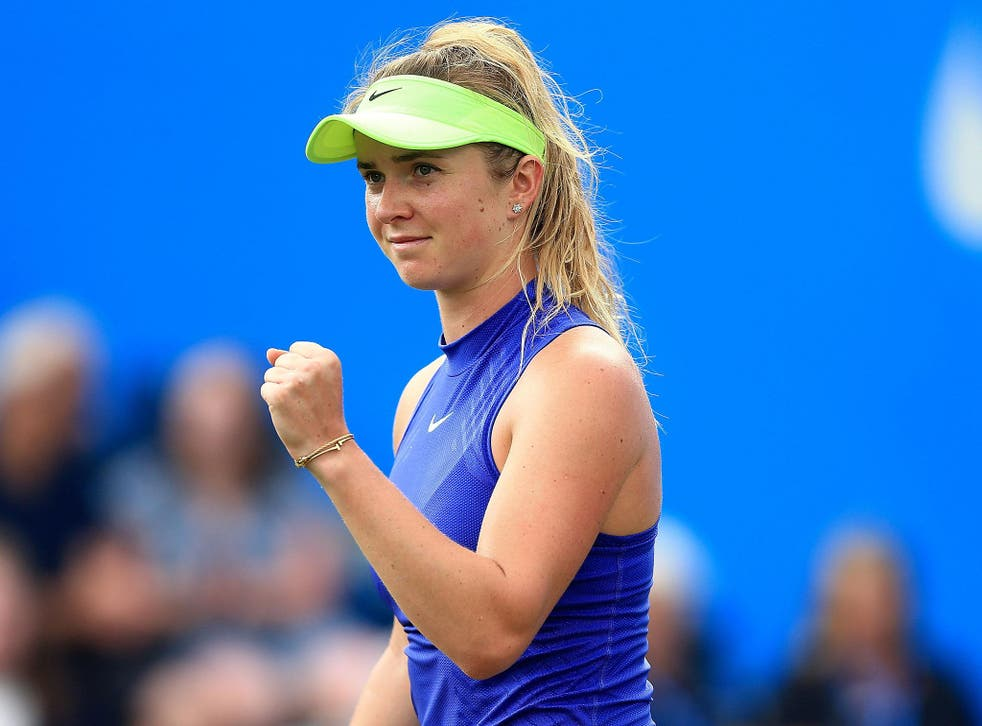 Elina Svitolina is seeded fourth for this year's Championships