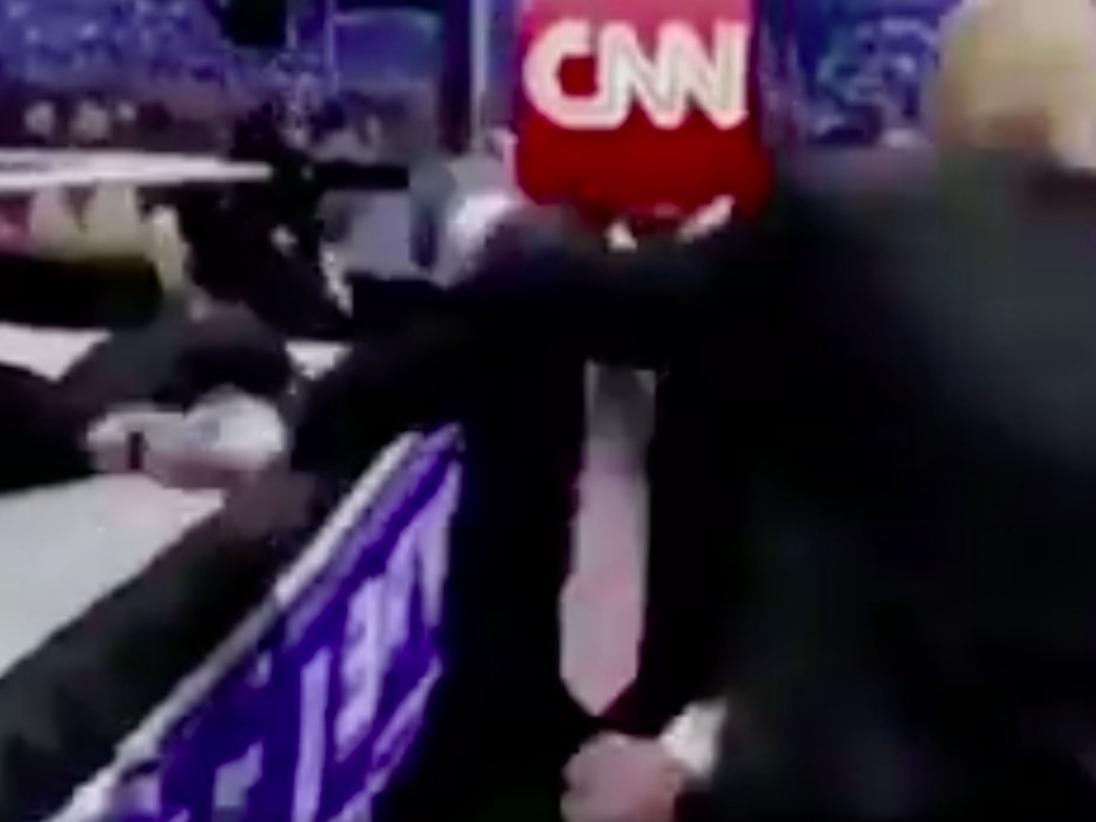 Cnn World News Twitter: Donald Trump's CNN Video Reportedly Created By Reddit User