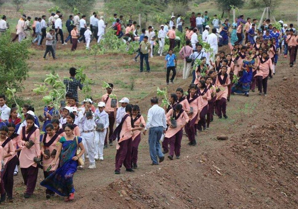 India Plants 66 Million Trees In 12 Hours As Part Of Record Breaking