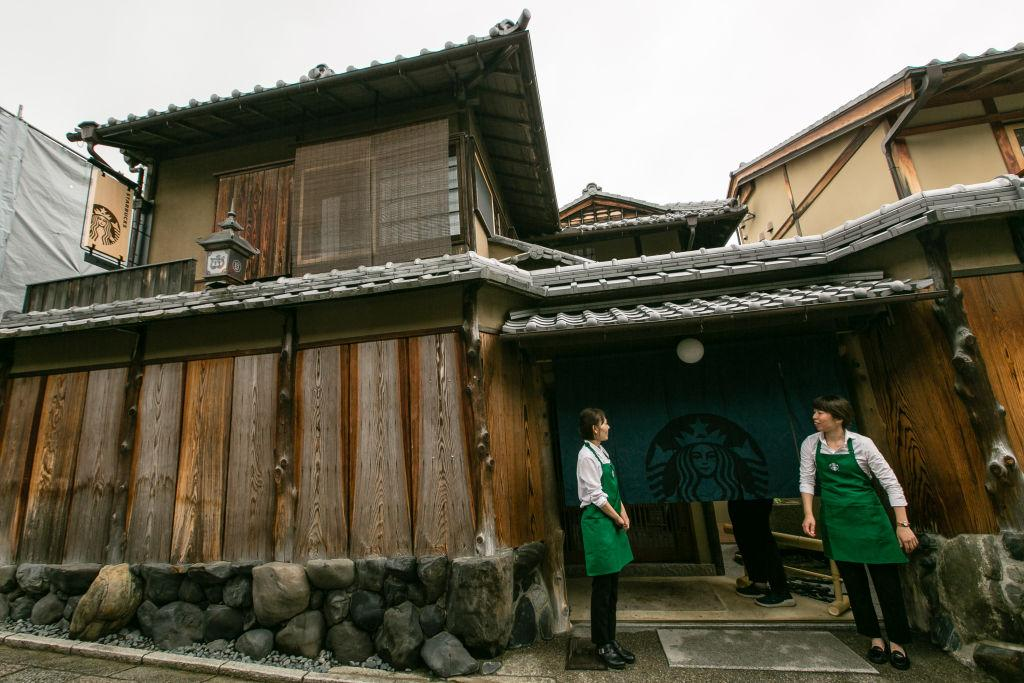 Inside Starbucks' new Kyoto café set inside 100-year old Japanese townhouse