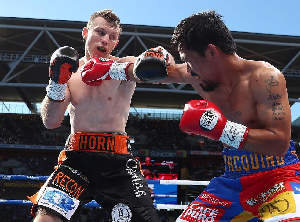 Manny Pacquiao was made to look every hour of his age against Jeff Horn