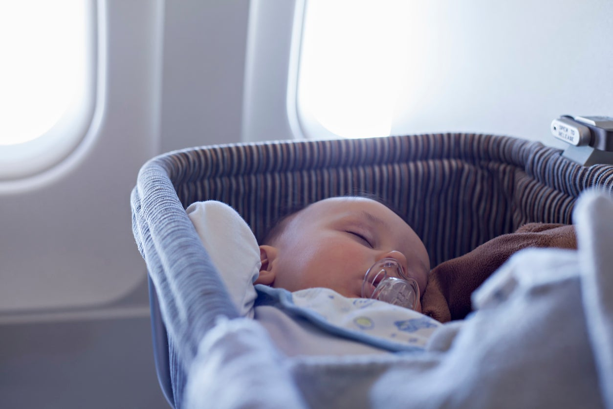 Spirit Airlines has given a baby born on one of its flights free lifetime travel