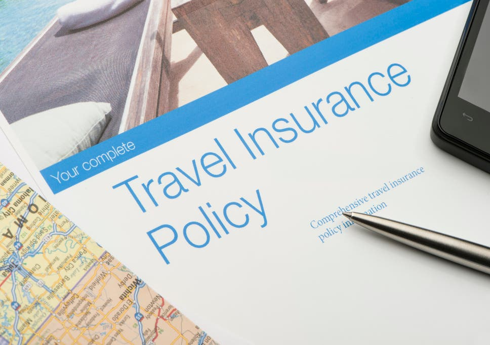 Image result for travel insurance policy