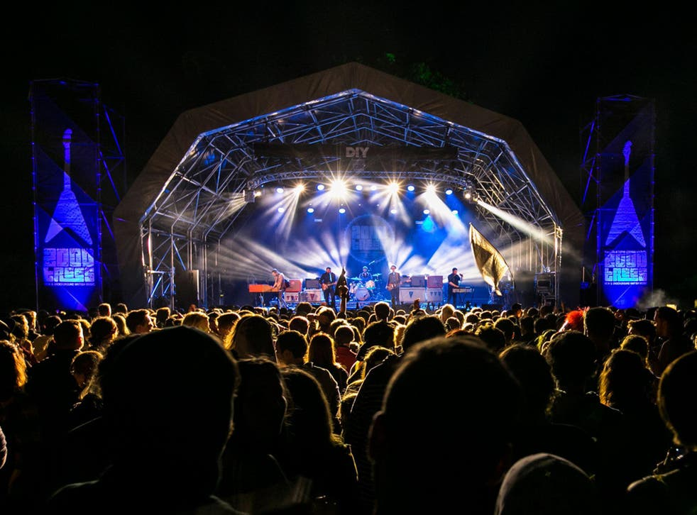 The Main Stage at 2000Trees