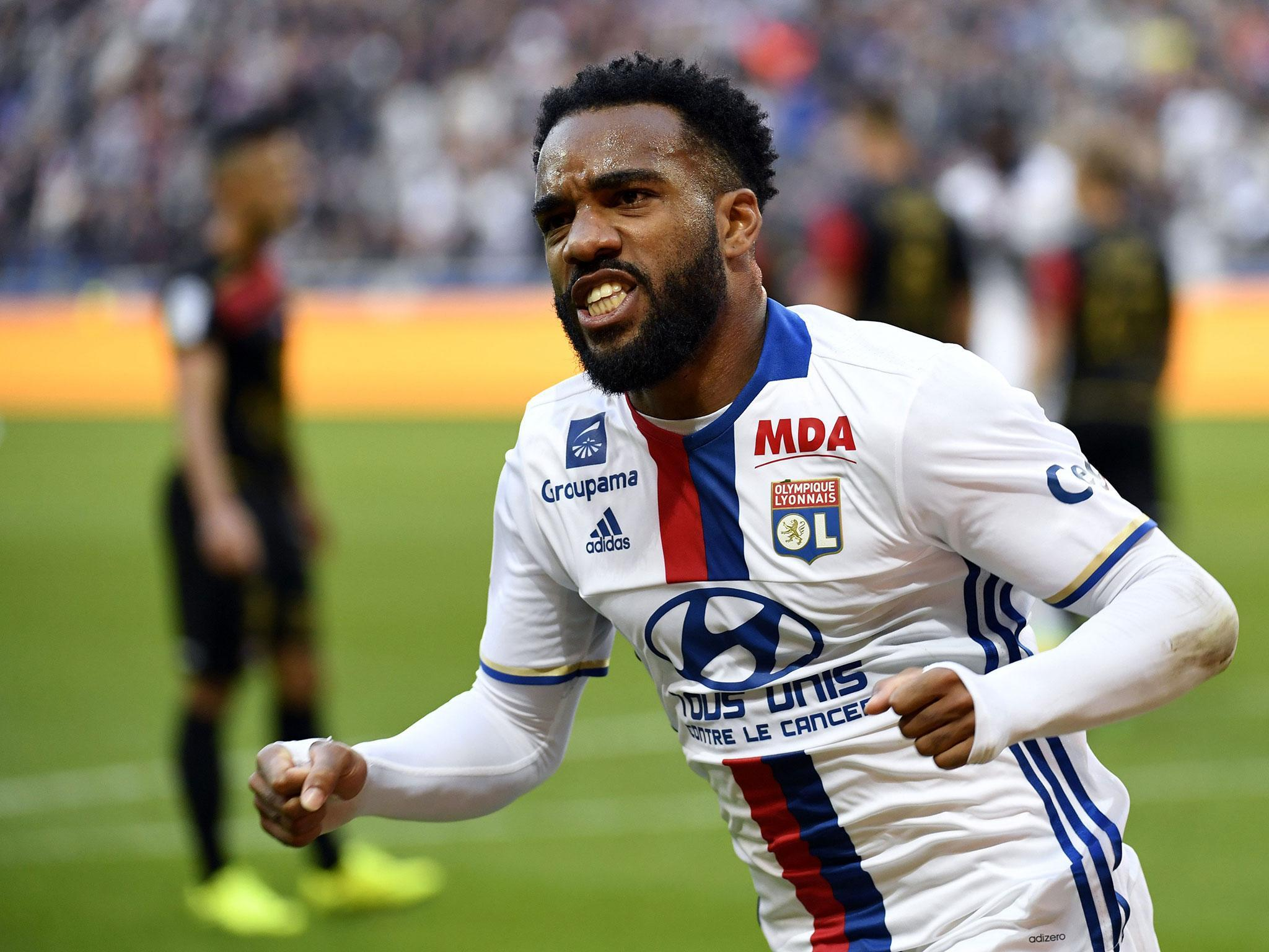 Alexandre Lacazette 9 The Players line Arsenal munity