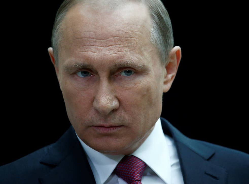 Russian President Vladimir Putin, who is due to meet Donald Trump at the G20 summit in Hamburg on 7 July
