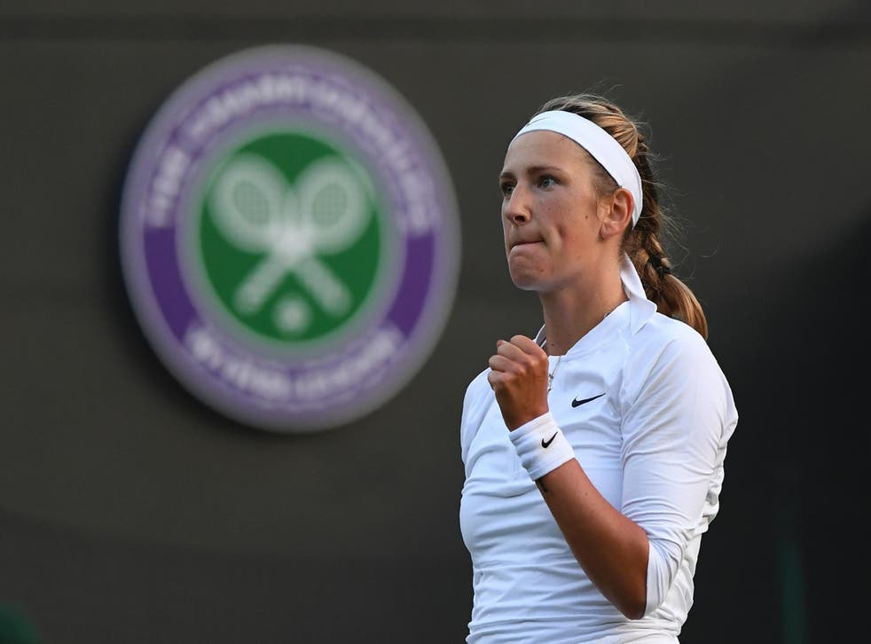 Azarenka has only just returned to tennis after giving birth in December