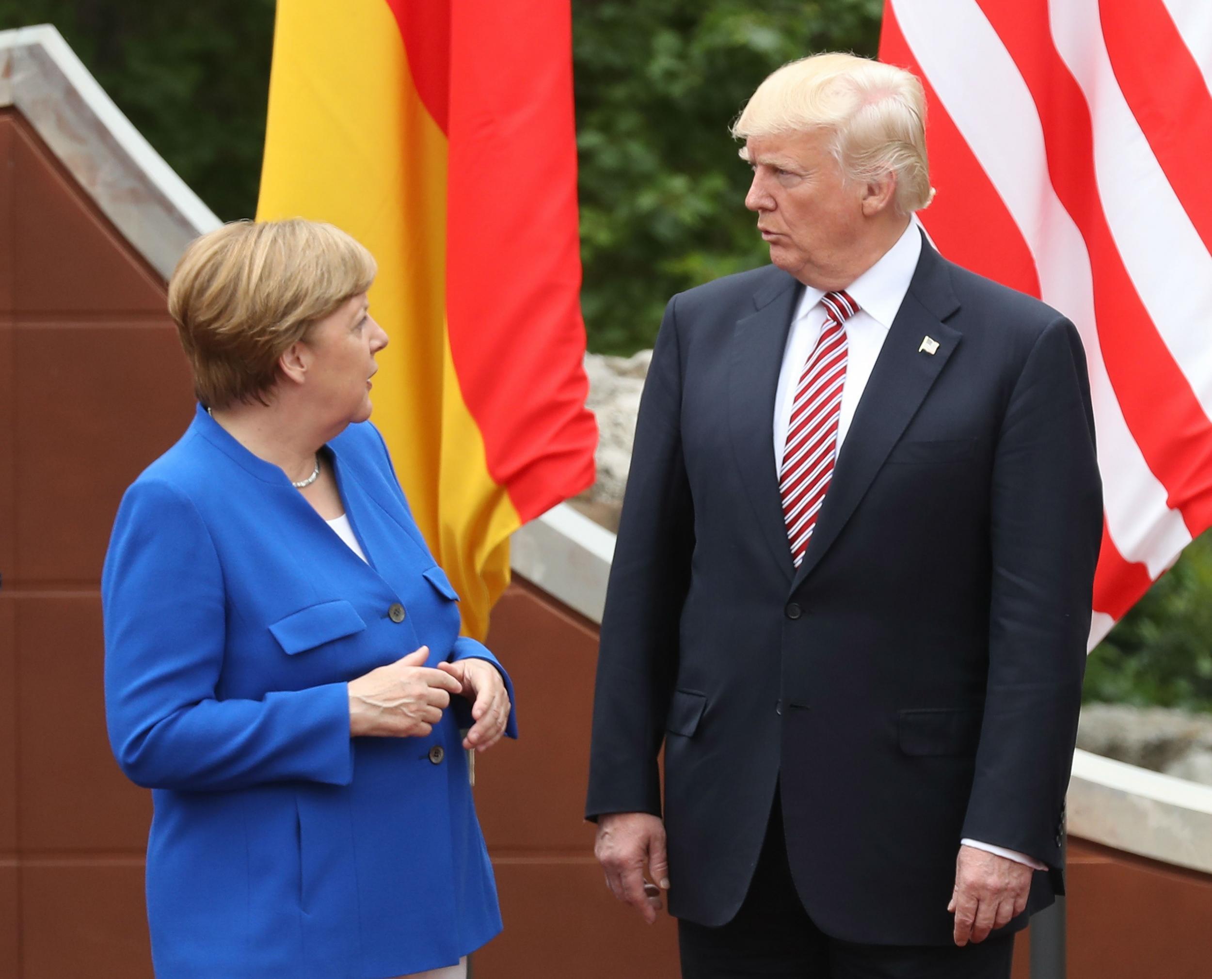Angela Merkel no longer considers America a friend, election material reveals
