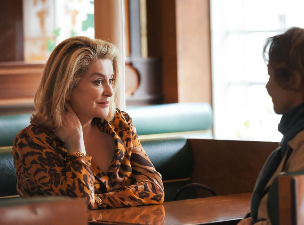 Catherine Deneuve (above) befriends the daughter of a past lover in 'The Midwife'
