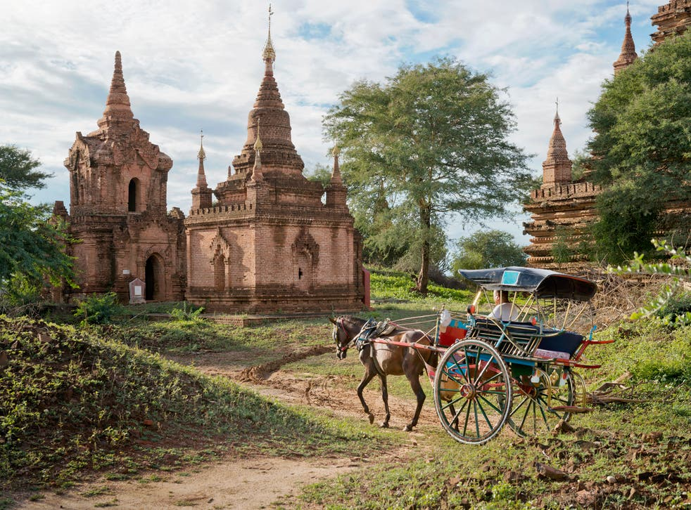 The ancient city of Bagan is particularly popular with tourists