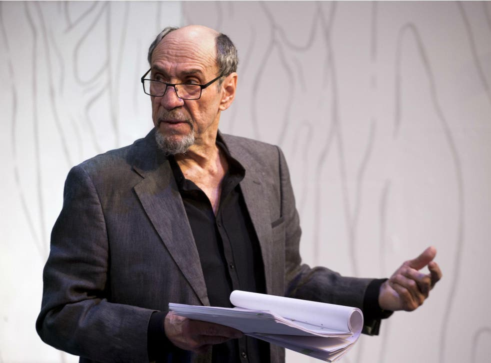 F Murray Abraham in 'The Mentor' at the Vaudeville Theatre