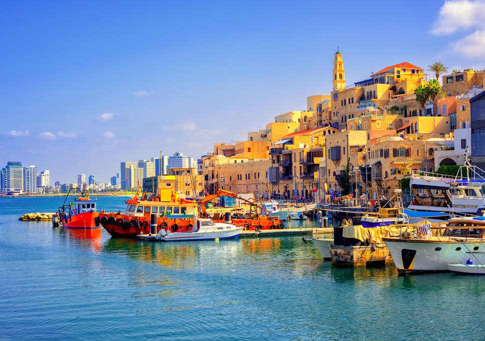 Tel Aviv's port of Jaffa
