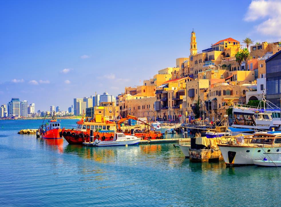 Tel Aviv's port of Jaffa
