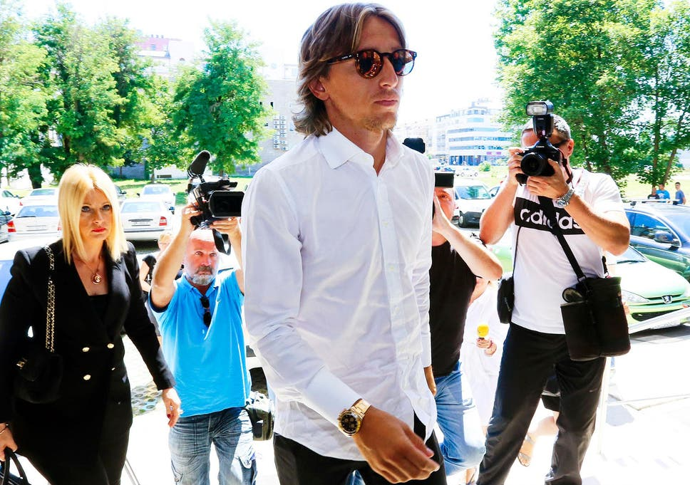 4904c8d4e Luka Modric insists his  conscience is clear  as he s questioned for ...