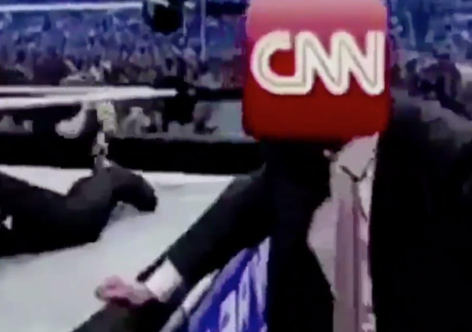 CNN accused of blackmailing Reddit user behind Trump's wrestling
