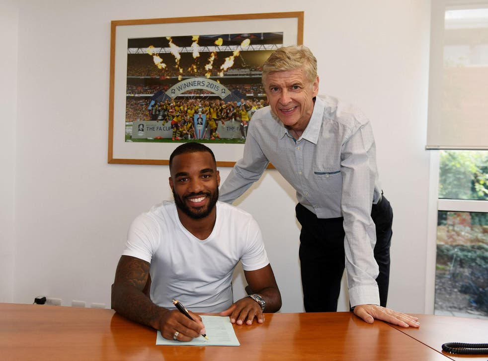 Alexandre Lacazette is set to complete the circle and sign for Arsenal