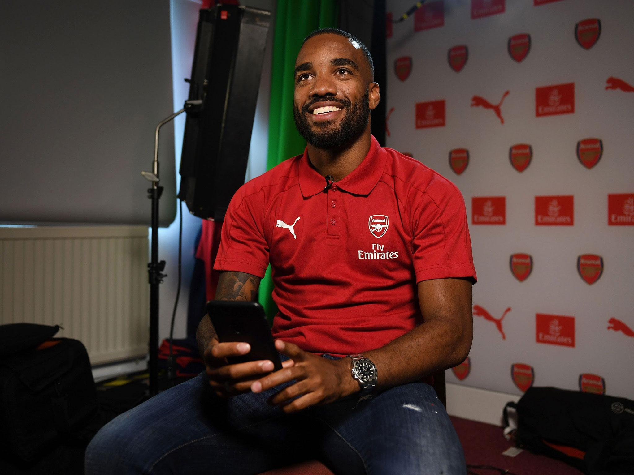 Alexandre Lacazette Explains Why He Chose Arsenal And