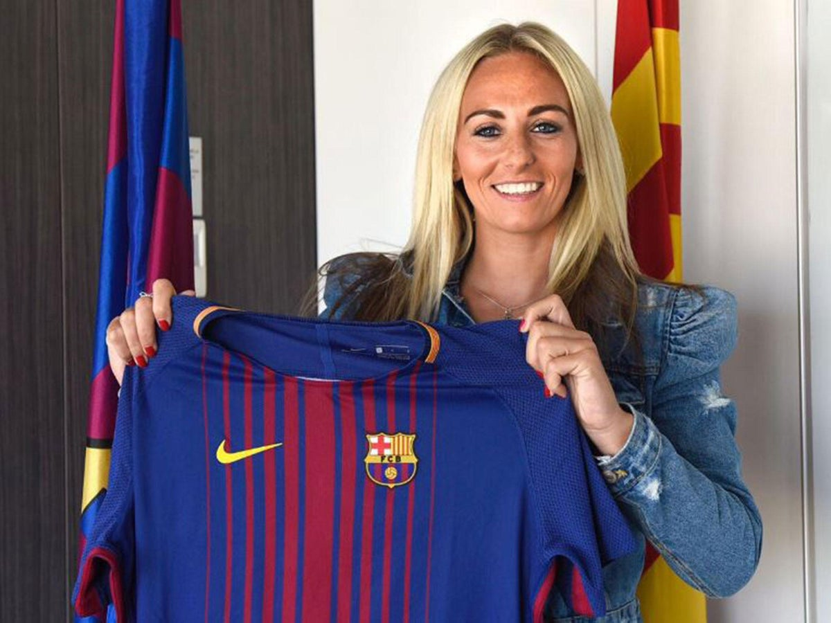 Toni Duggan's move from Manchester City to Barcelona is a landmark transfer  in women's football   The Independent   The Independent