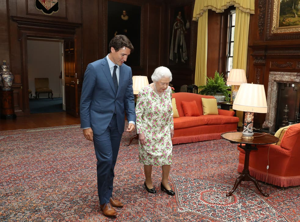 The Canadian Prime Minister met with the Queen in Edinburgh on Wednesday – and hopefully delivered some economic advice