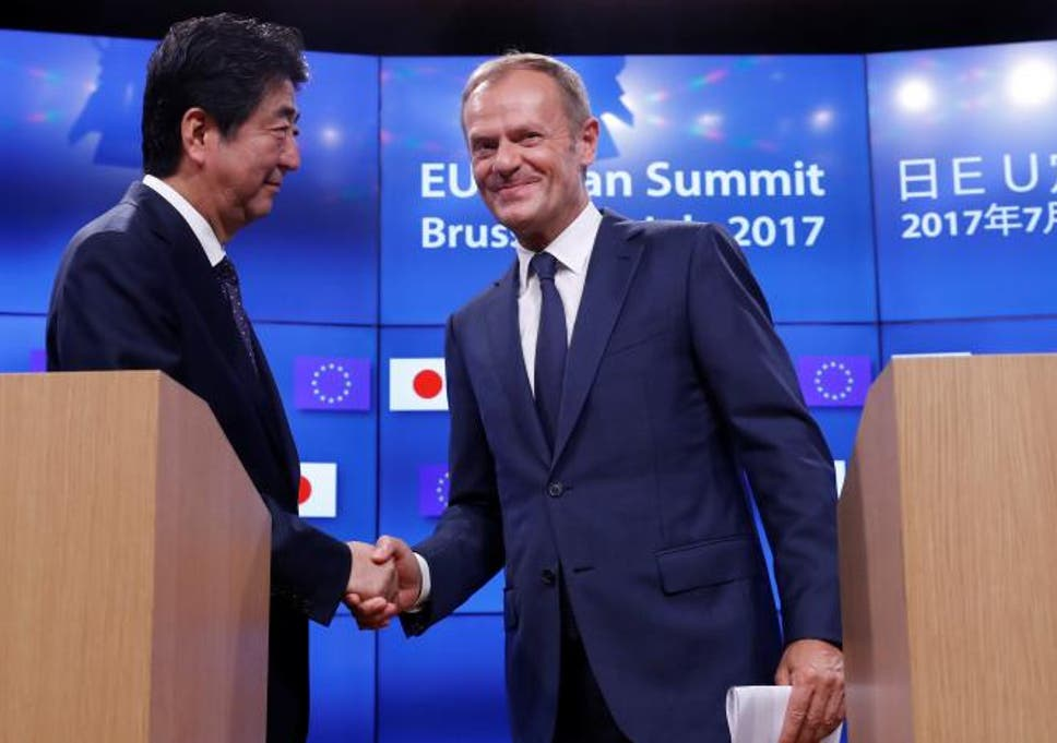 Donald Trump Sent Strong Message As Eu And Japan Agree Free Trade