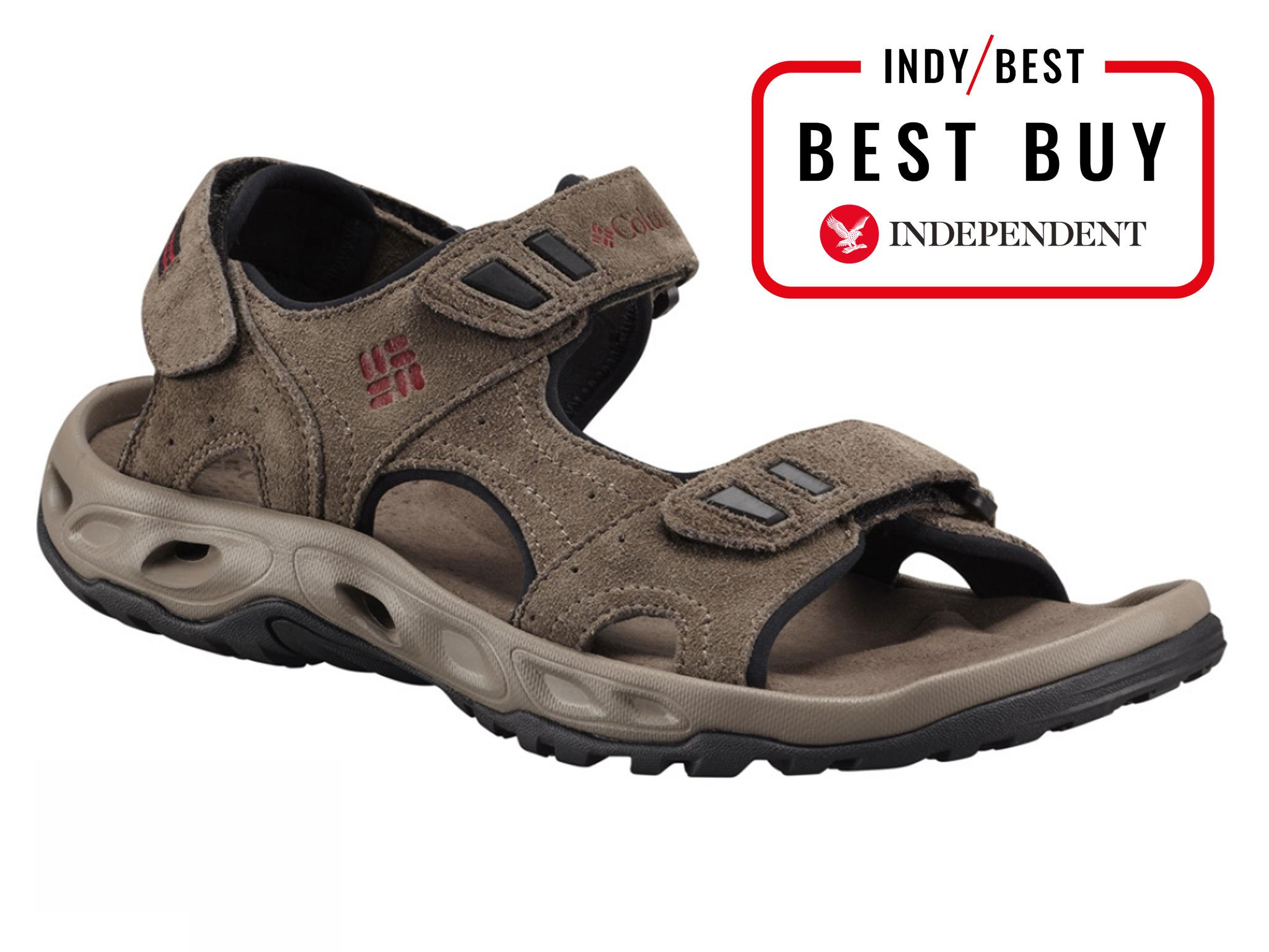 106b08703a5e We like the thicker straps on the comfy Ventmeister – they help the sandal  to offer the cushioned support of a trainer with a lot more breathability.