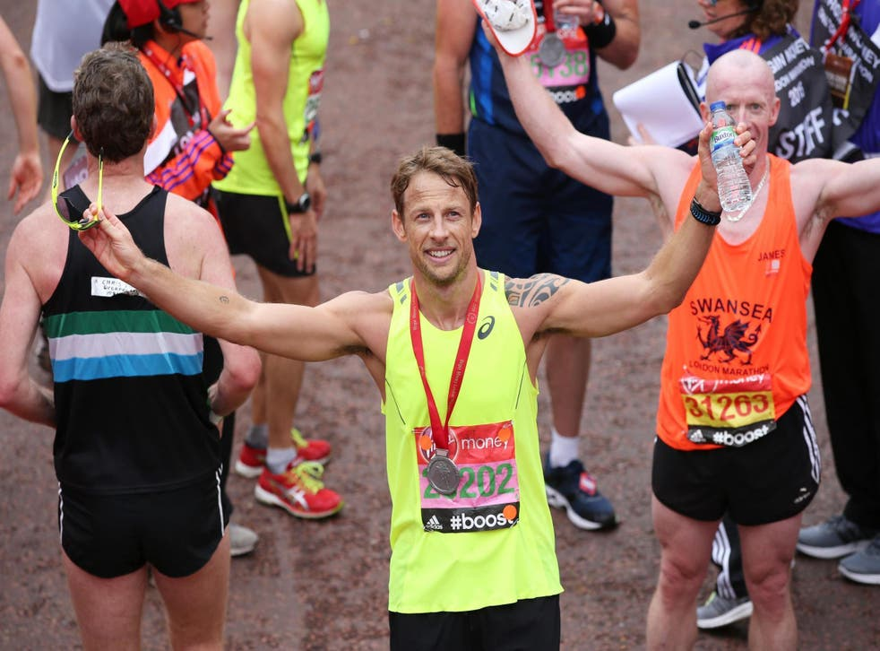 Former Formula One driver Jenson Button is a keen triathlon competitor and Strava user