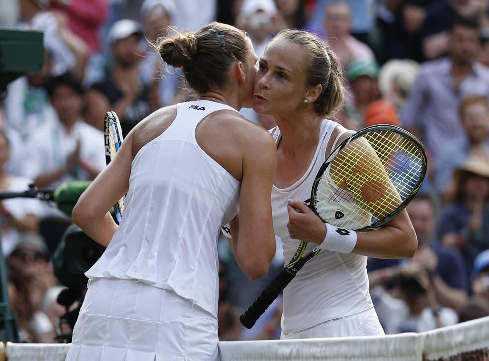 Pliskova was stunned in the second round