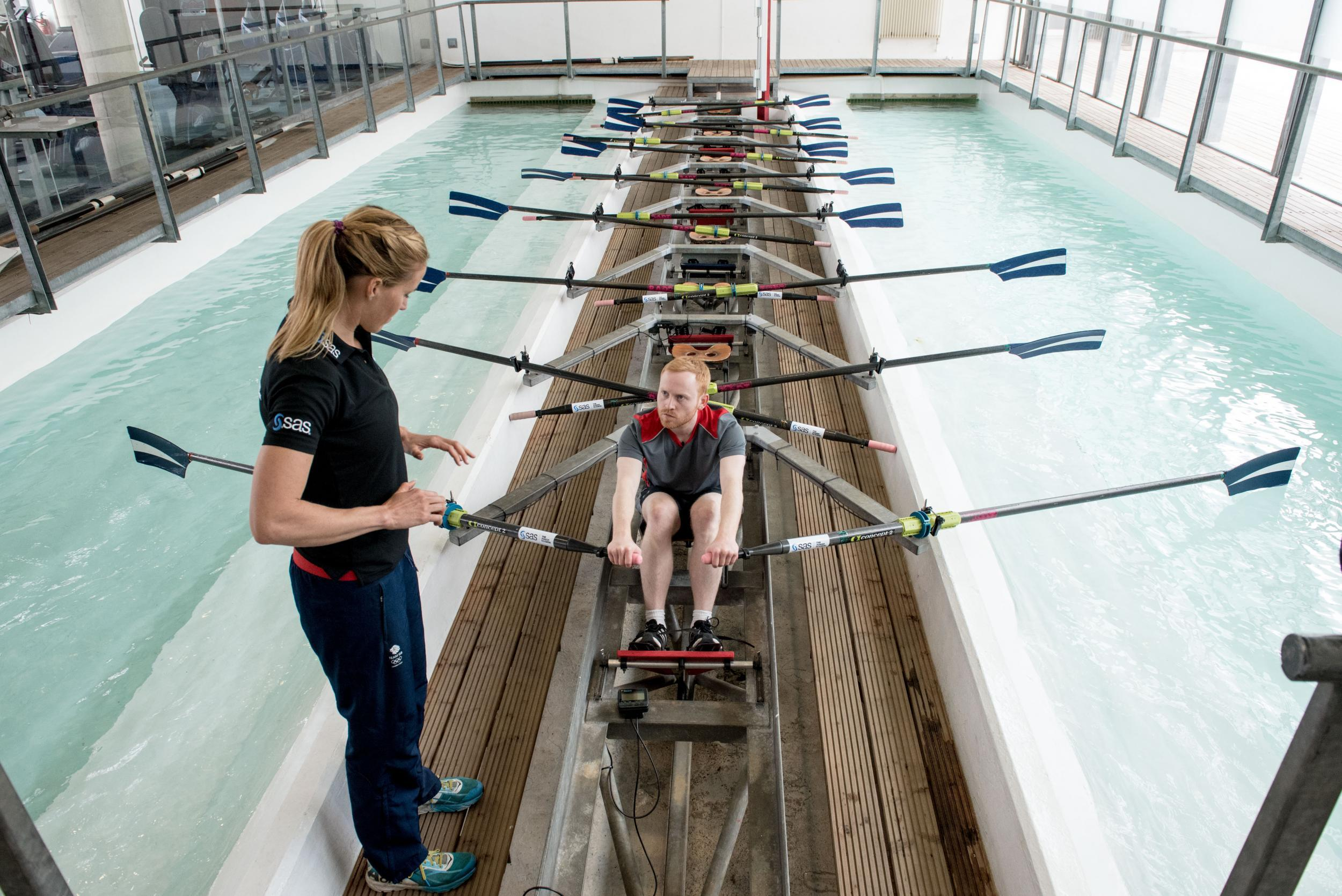 Head to head with an olympic champion a rowing masterclass with head to head with an olympic champion a rowing masterclass with double gold medalist helen glover the independent fandeluxe Image collections