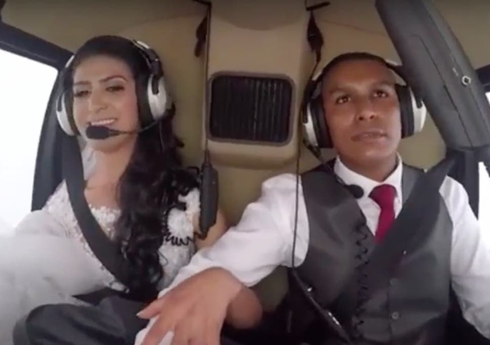 Wedding Helicopter Crash.Heartbreaking Footage Shows Moment Bride Is Killed In Helicopter