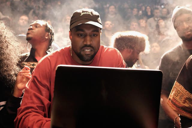 Kanye West. Credit: Getty Images for Yeezy Season 3