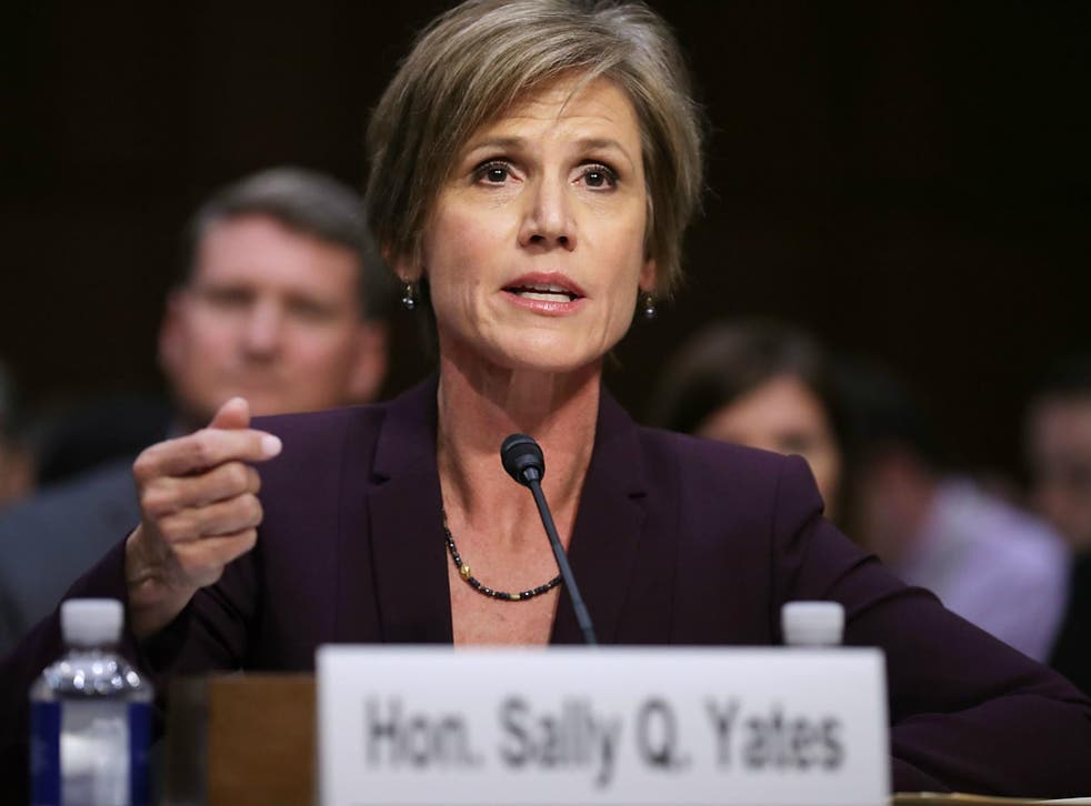 Former Deputy Attorney General Sally Yates warns that Russian hacking of a US election could take place again because of Donald Trump's refusal to believe the intelligence community