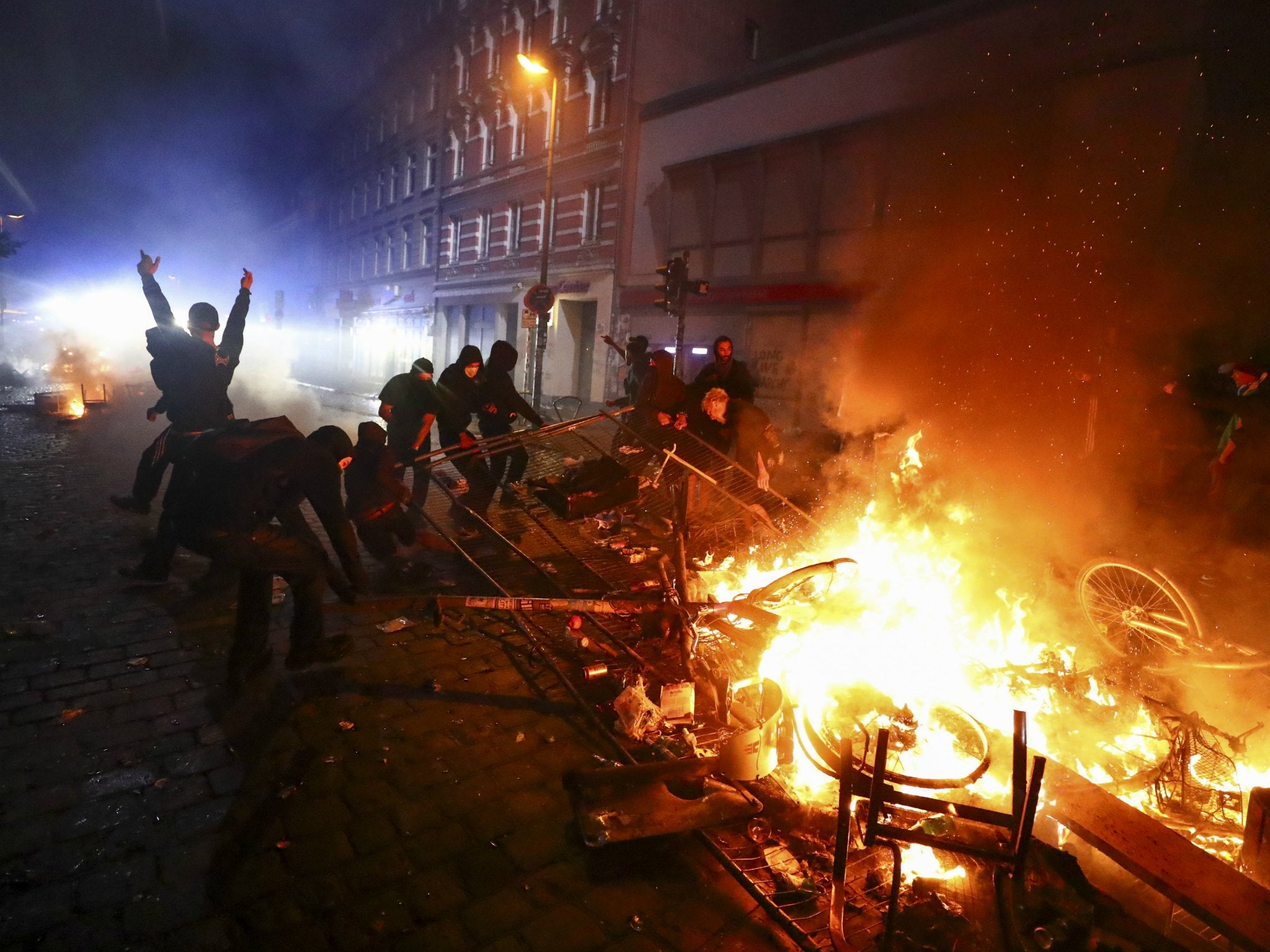 g20 protests  thousands take to the streets driven by